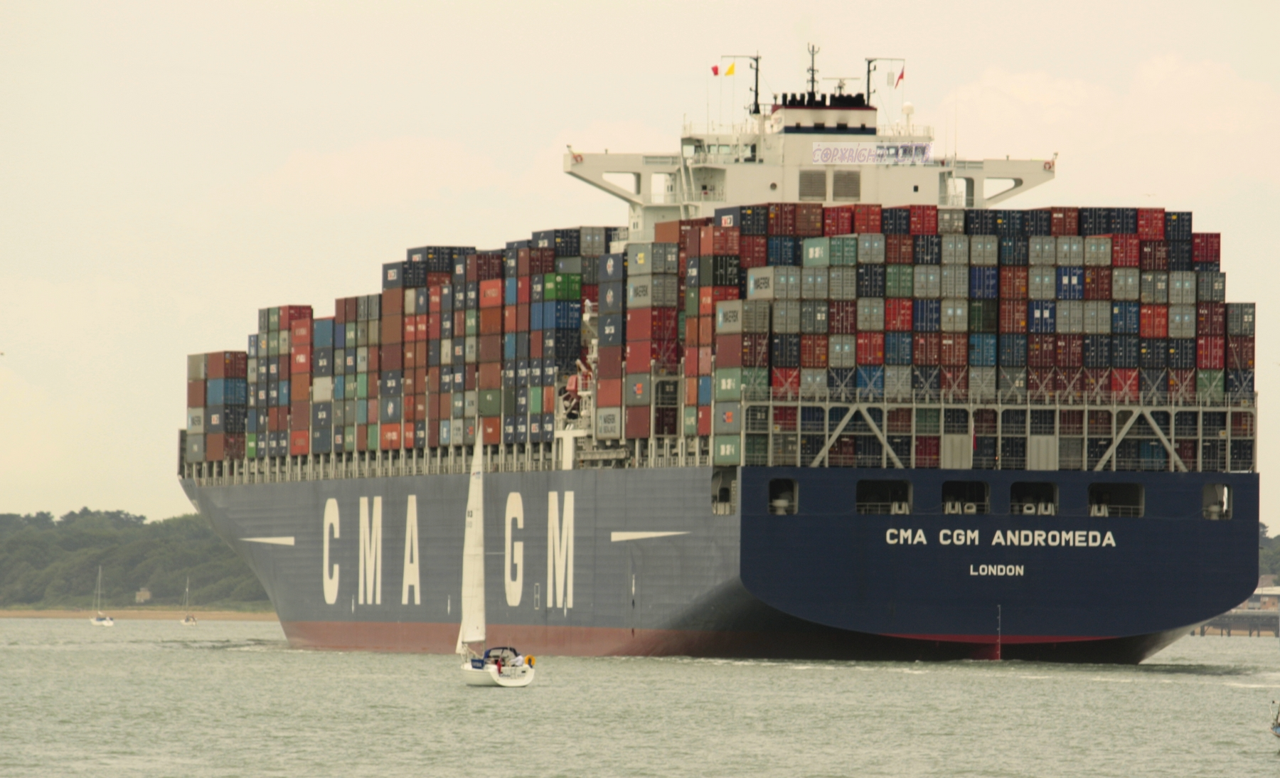 search home ships container ships cma cgm cma cgm andromeda ...