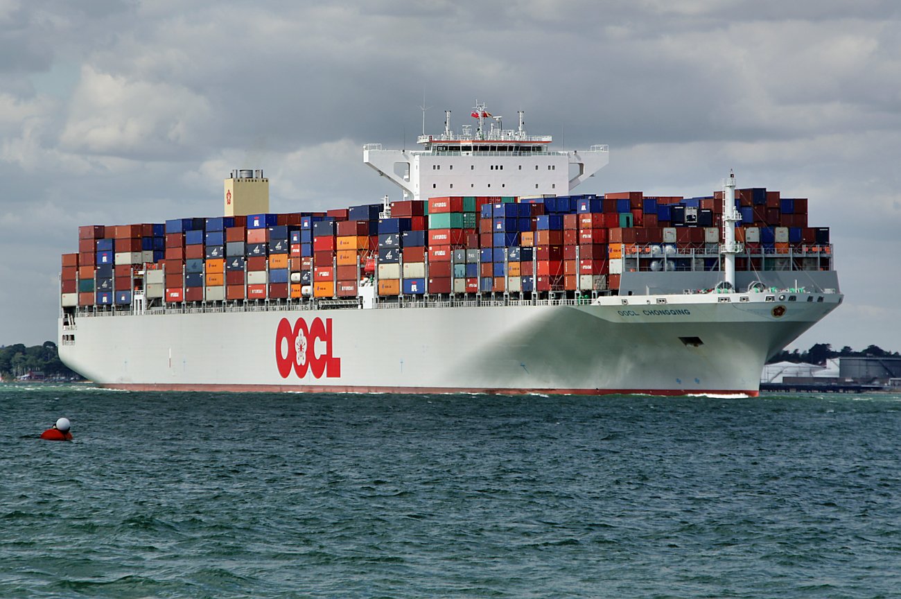 OOCL Trans-Pacific trade service update